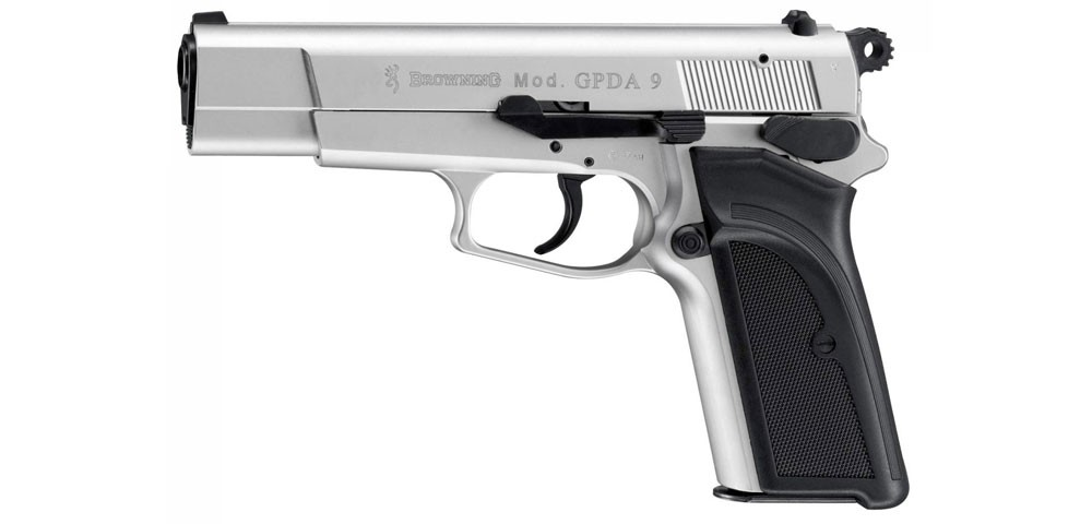Browning GPDA 9 cal. 9 mm P.A.K. - Crushed Silver gázpisztoly