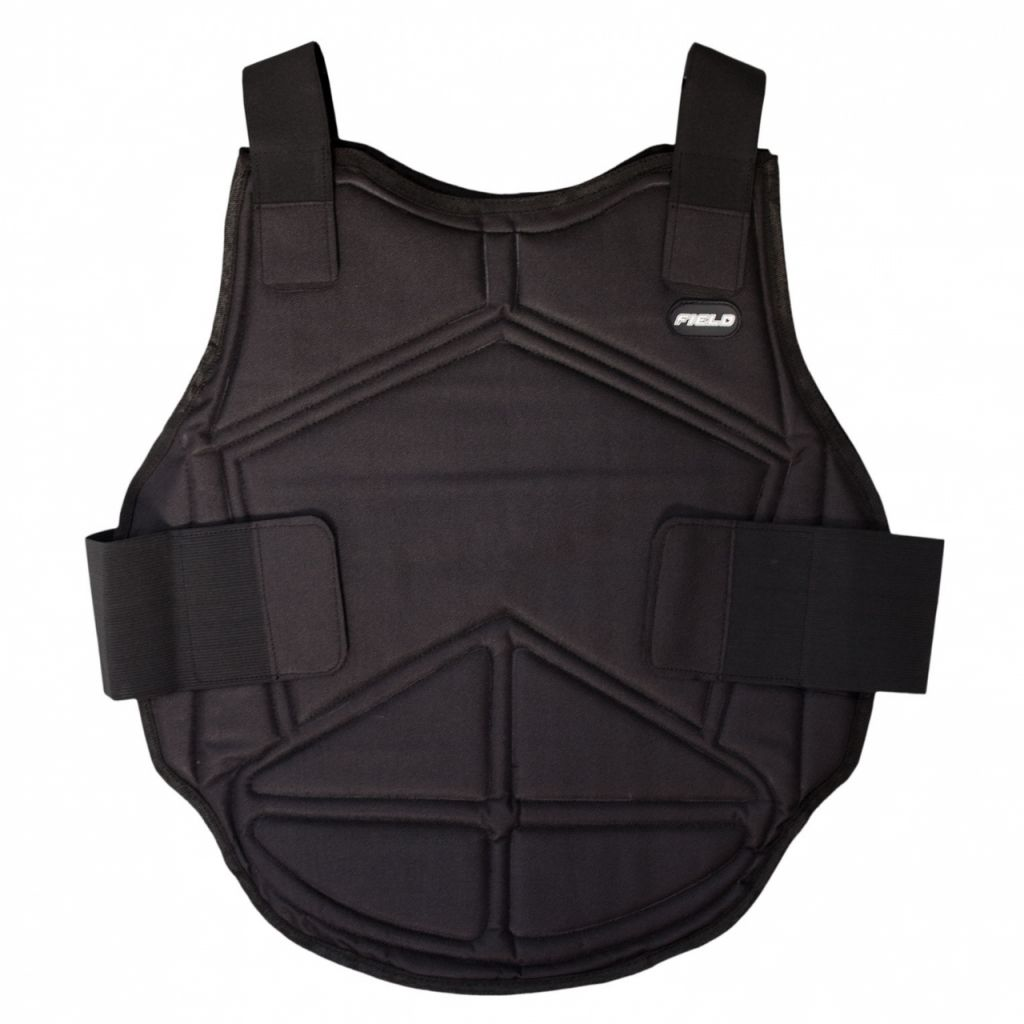 Chest Protector Field Black - Adult mellkasvédő