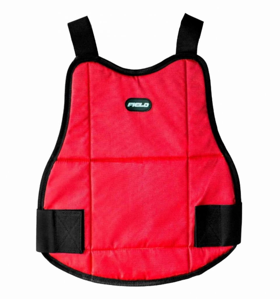 Chest Protector Field Reversible Blue/Red gyermek mellkasvédő