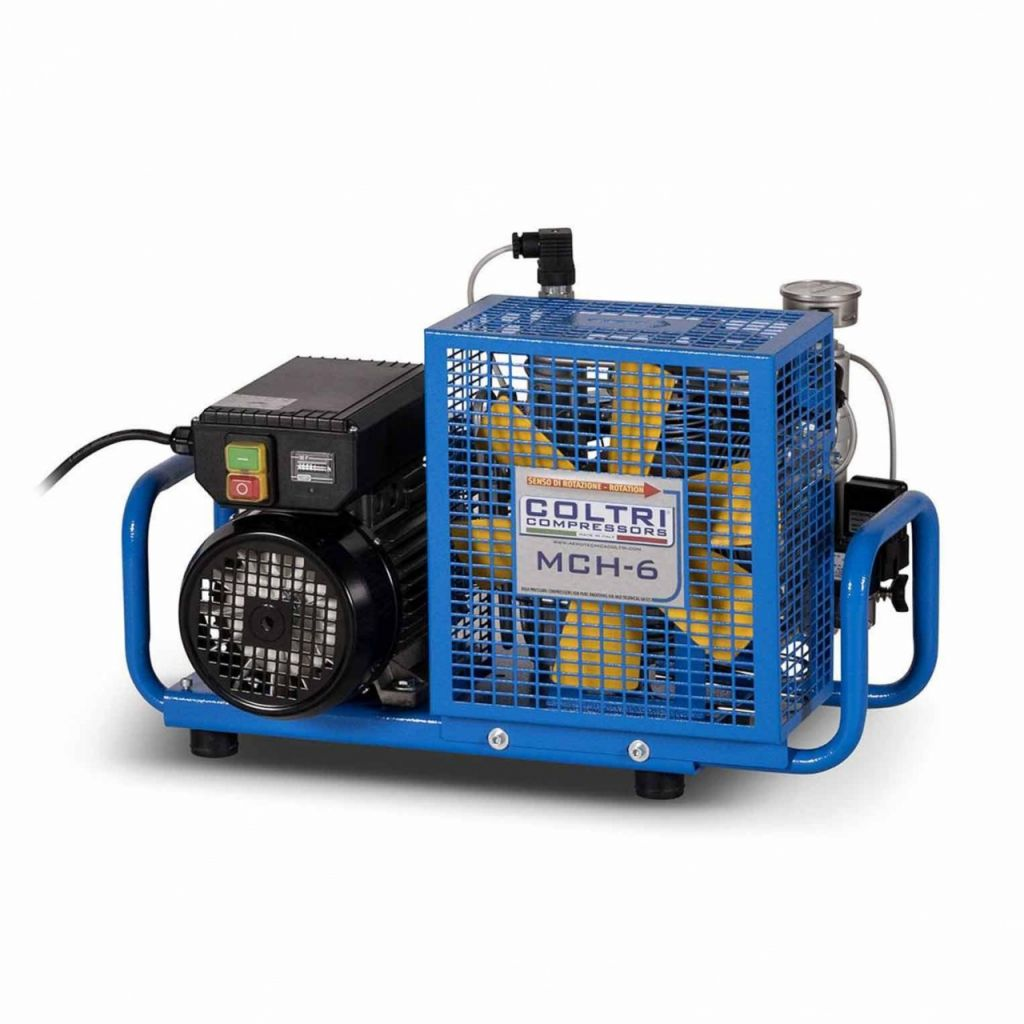 Compressor Coltri MCH6 Electric (Single-Phase) 300Bar