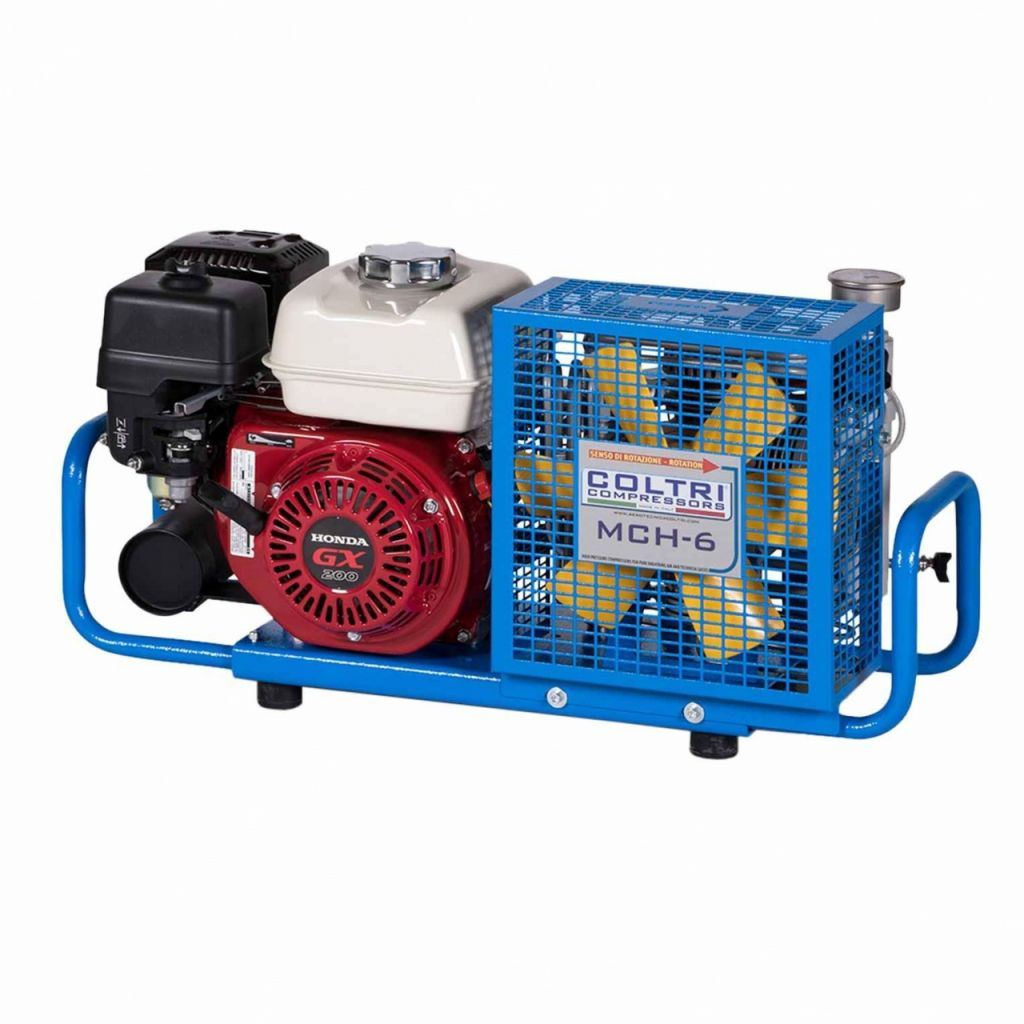 Compressor Coltri MCH6 Gasoline 200Bar