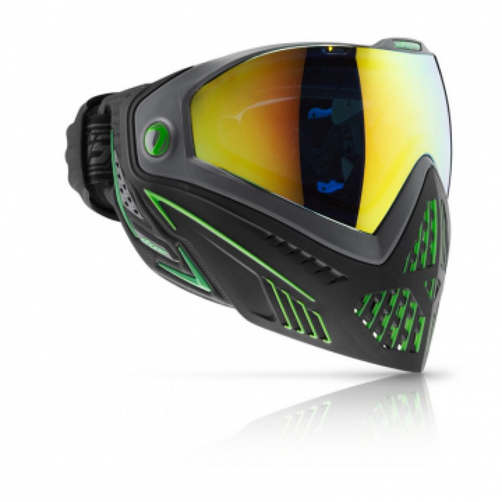 Dye Goggle i5 Emerald black- lime
