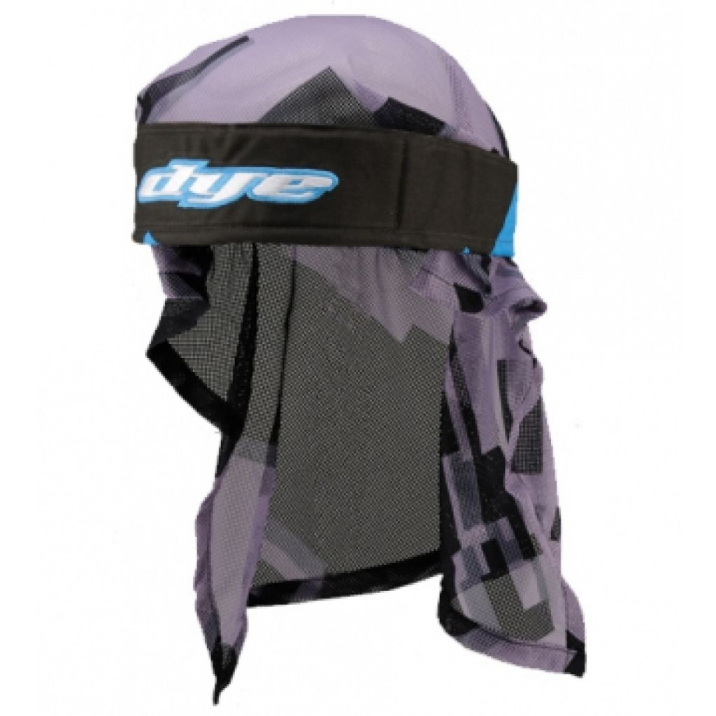 Dye Head paintball fejkendő (airstrike cyan black)