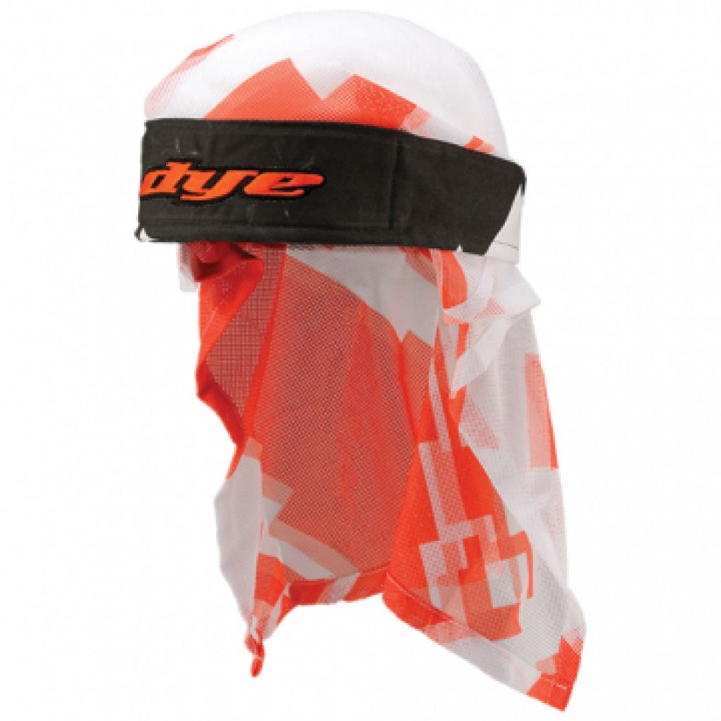 Dye Head paintball fejkendő (airstrike orange white)