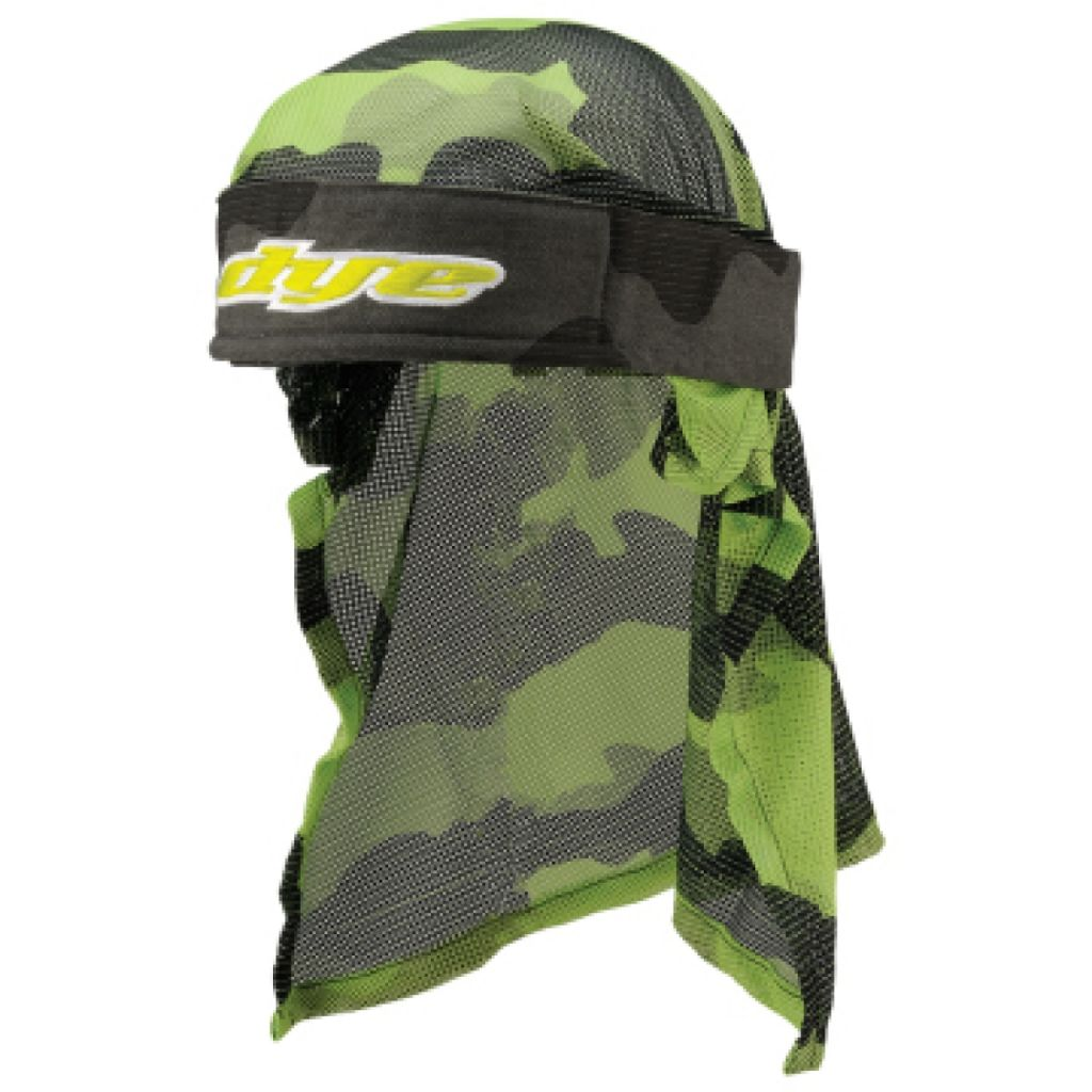 Dye Head paintball fejkendő (bomber grey lime)