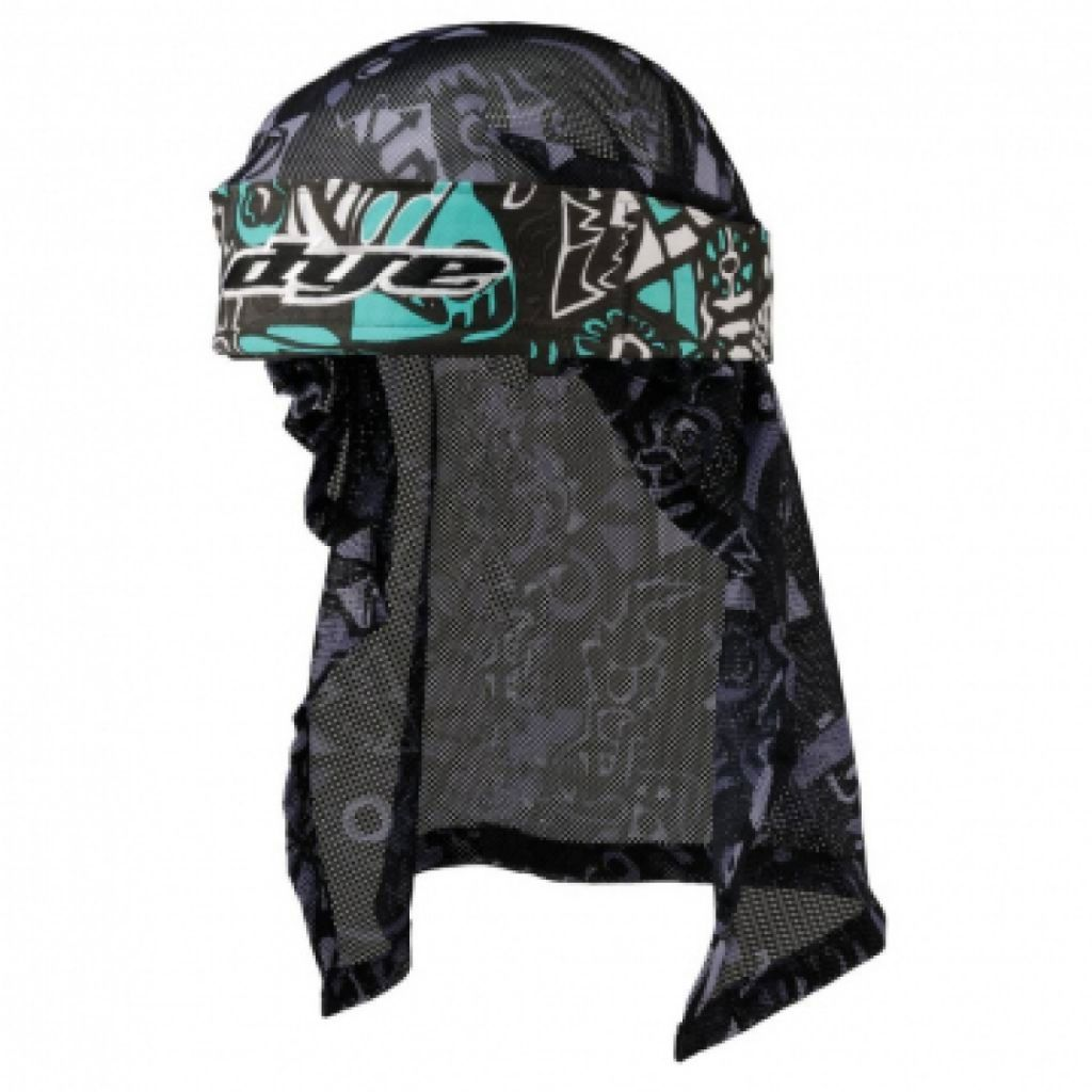 Dye Head paintball fejkendő (eskimo teal grey black)