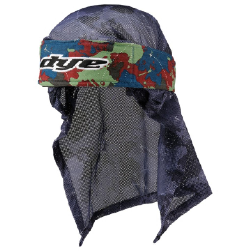 Dye Head paintball fejkendő (global blue red green)