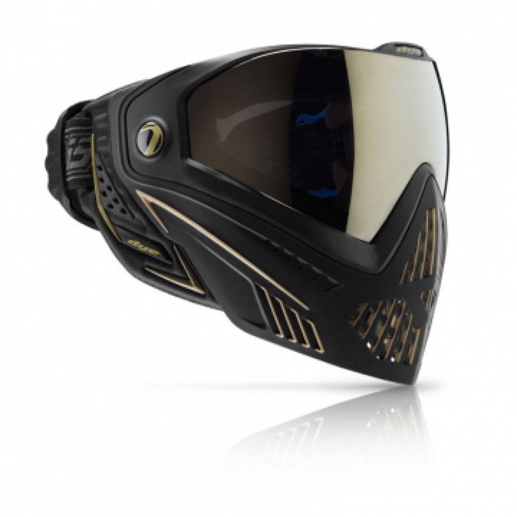 Dye i5 paintball maszk Onyx blac- gold