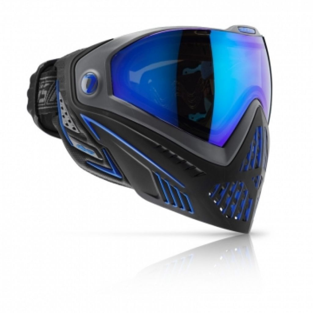 Dye i5 paintball maszk Storm black- blue
