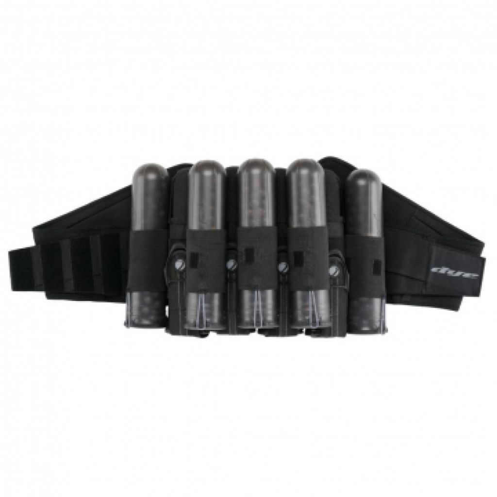 Dye Jet Pack 4+5 Tube tartó black/gray