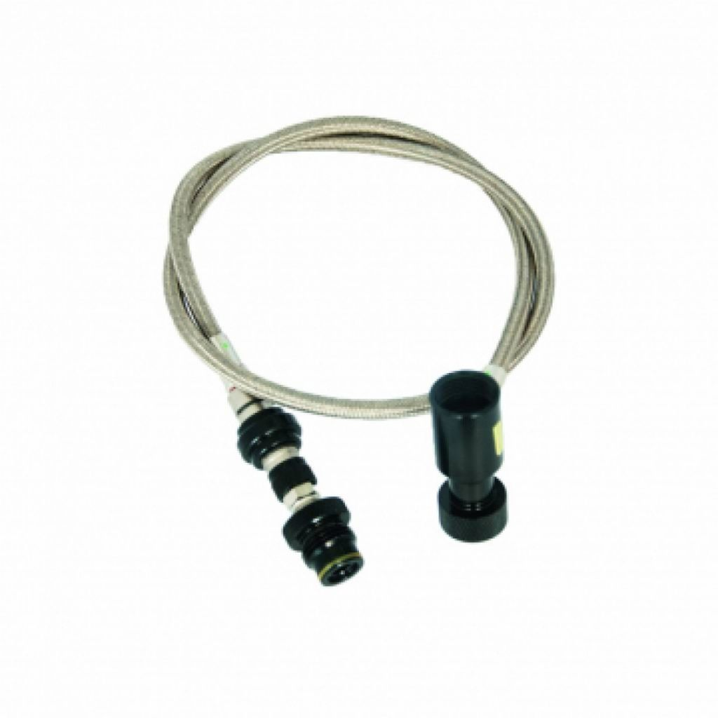 DYE Remote Hose - Steel Straight With Bleeder mamba