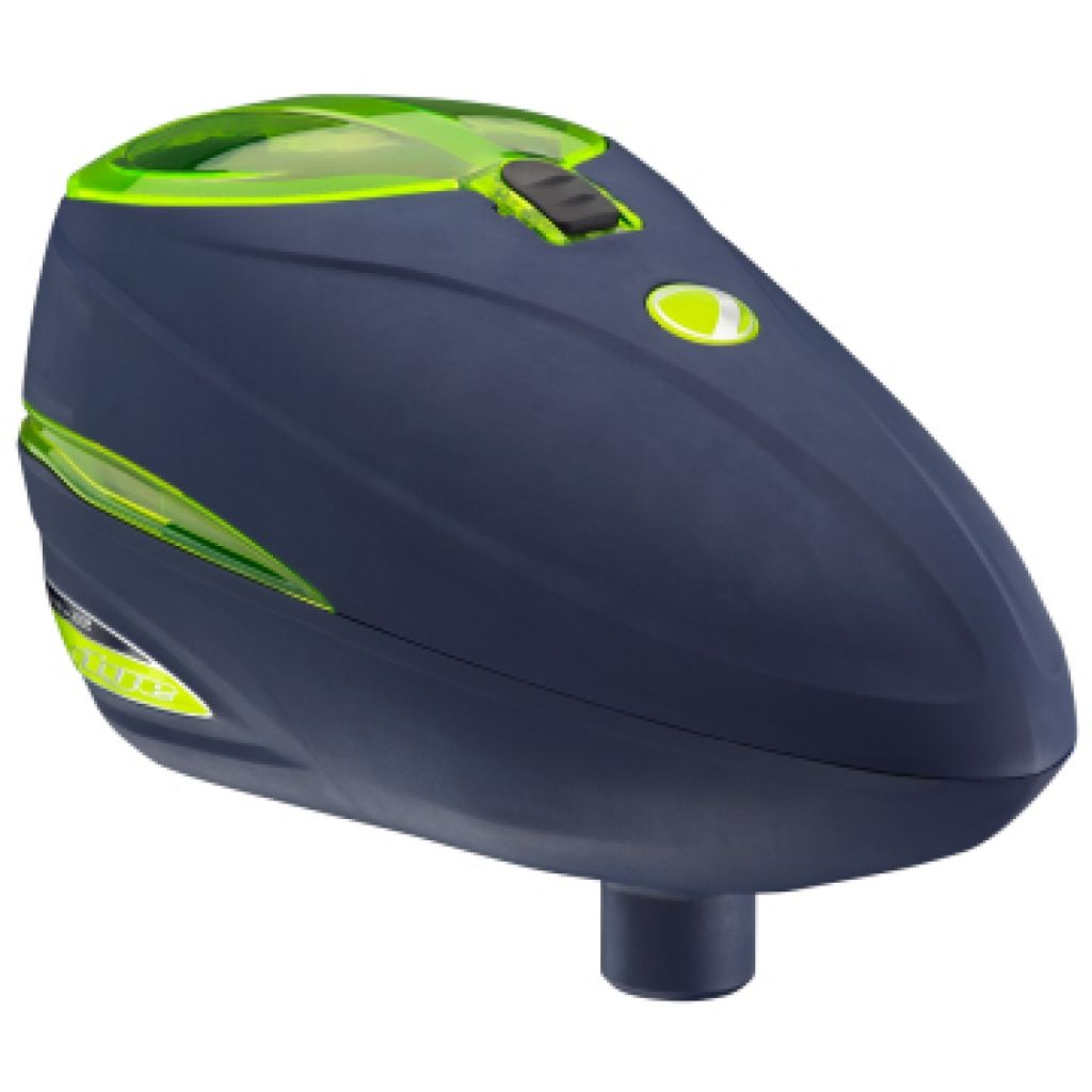Dye Rotor R2 paintball tár (navy lime)