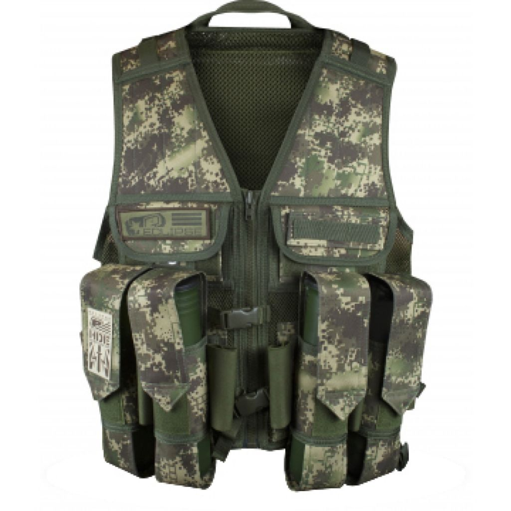Eclipse Tactical Load Vest HDE camo mellény