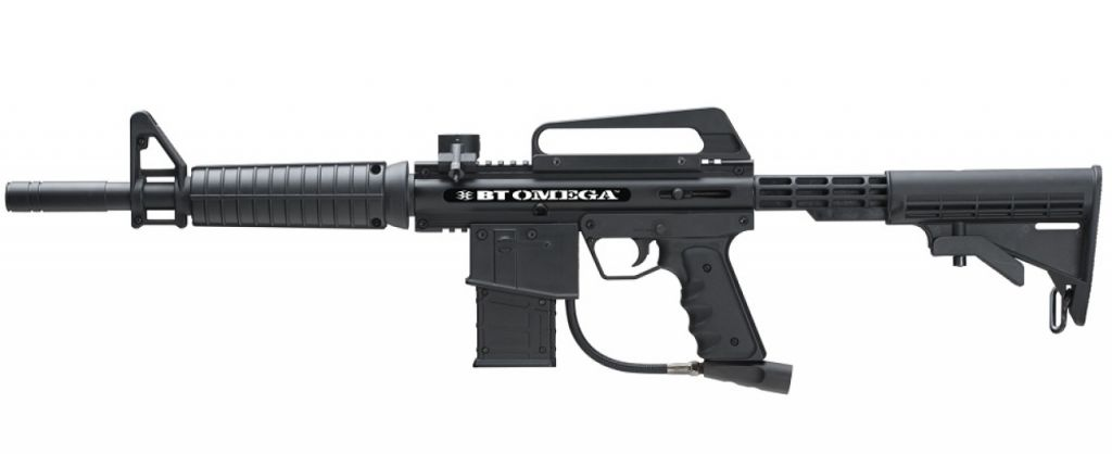 Empire BT 4 Omega Black Paintball Marker