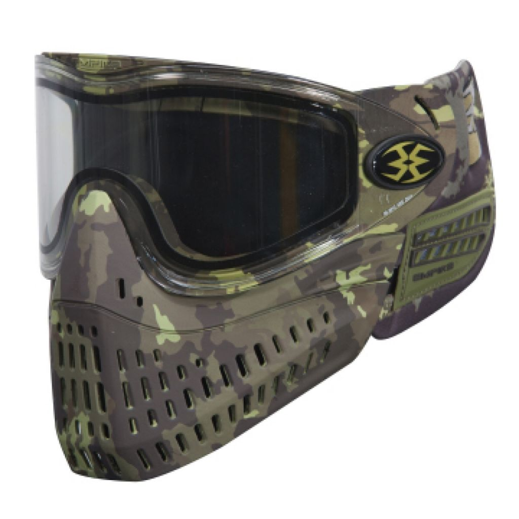 Empire BT E-Flex Thermal lencsés paintball maszk (terrapat)