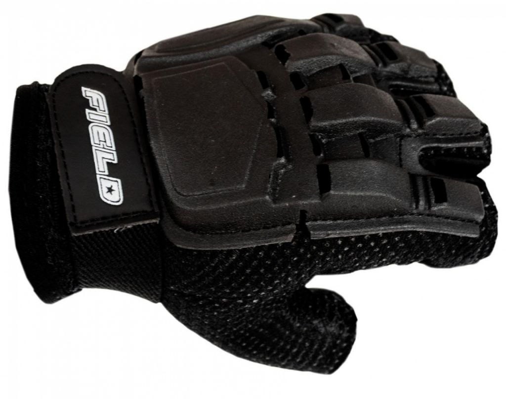 Gloves Field Half Finger Black kesztyű
