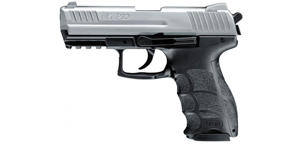 Heckler & Koch P30 cal. 9 mm P.A.K. steel finish gázpisztoly