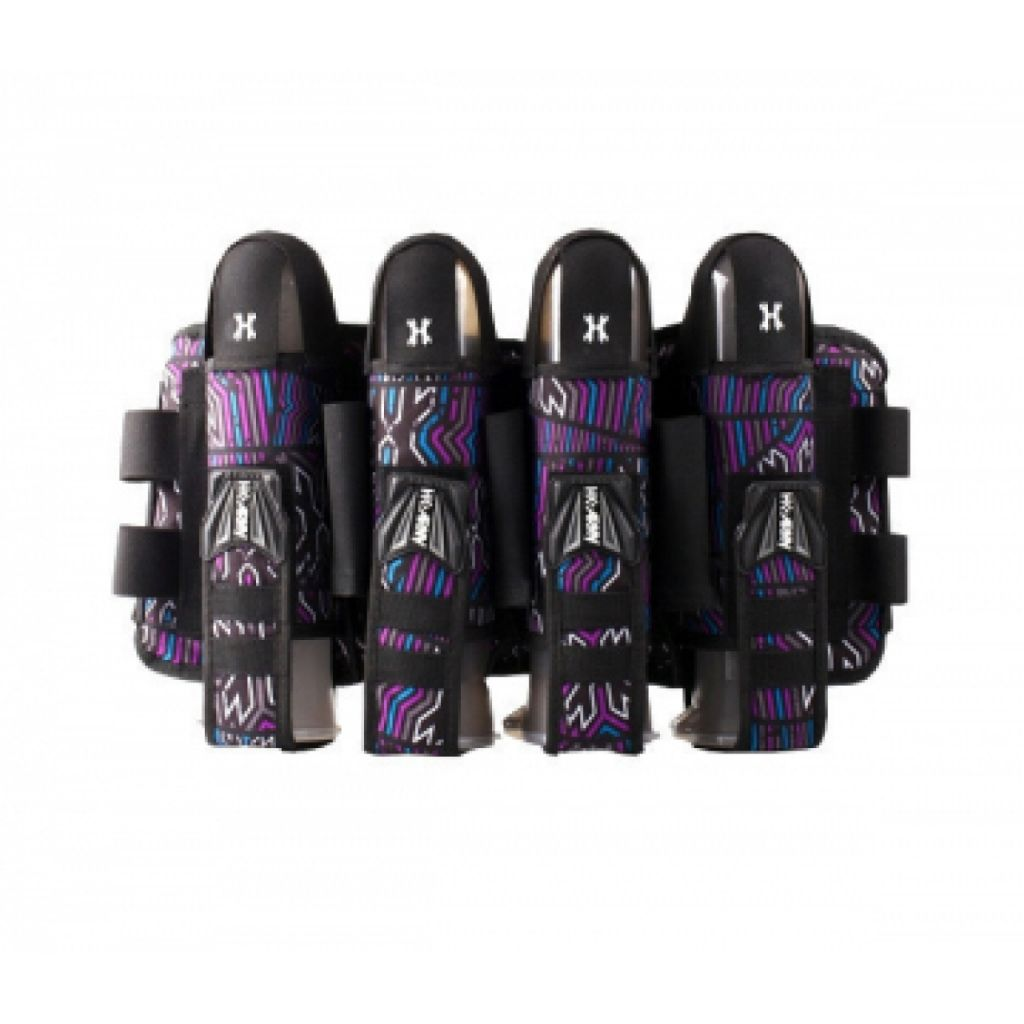 HK Army Eject Harness 4+3+4 paintball tube tartó