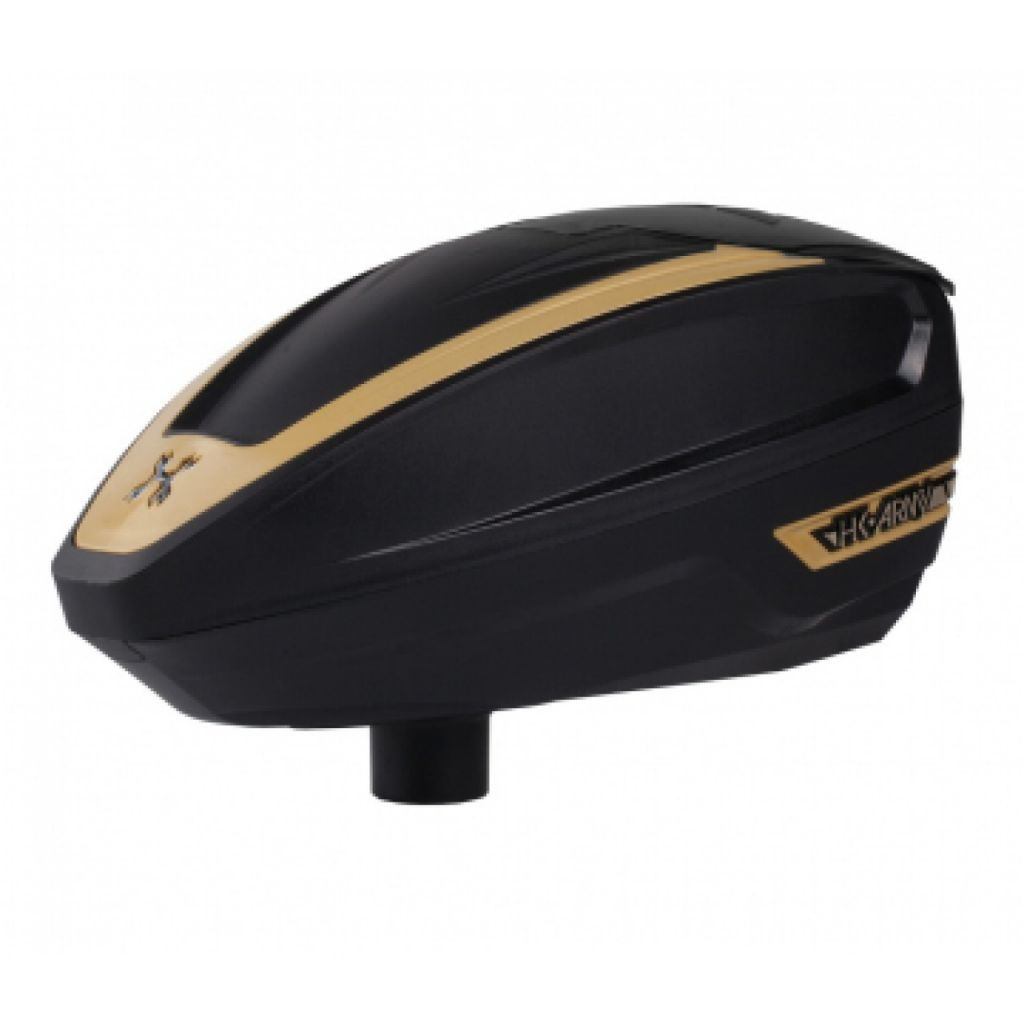 HK Army TFX paintball tár (black gold)