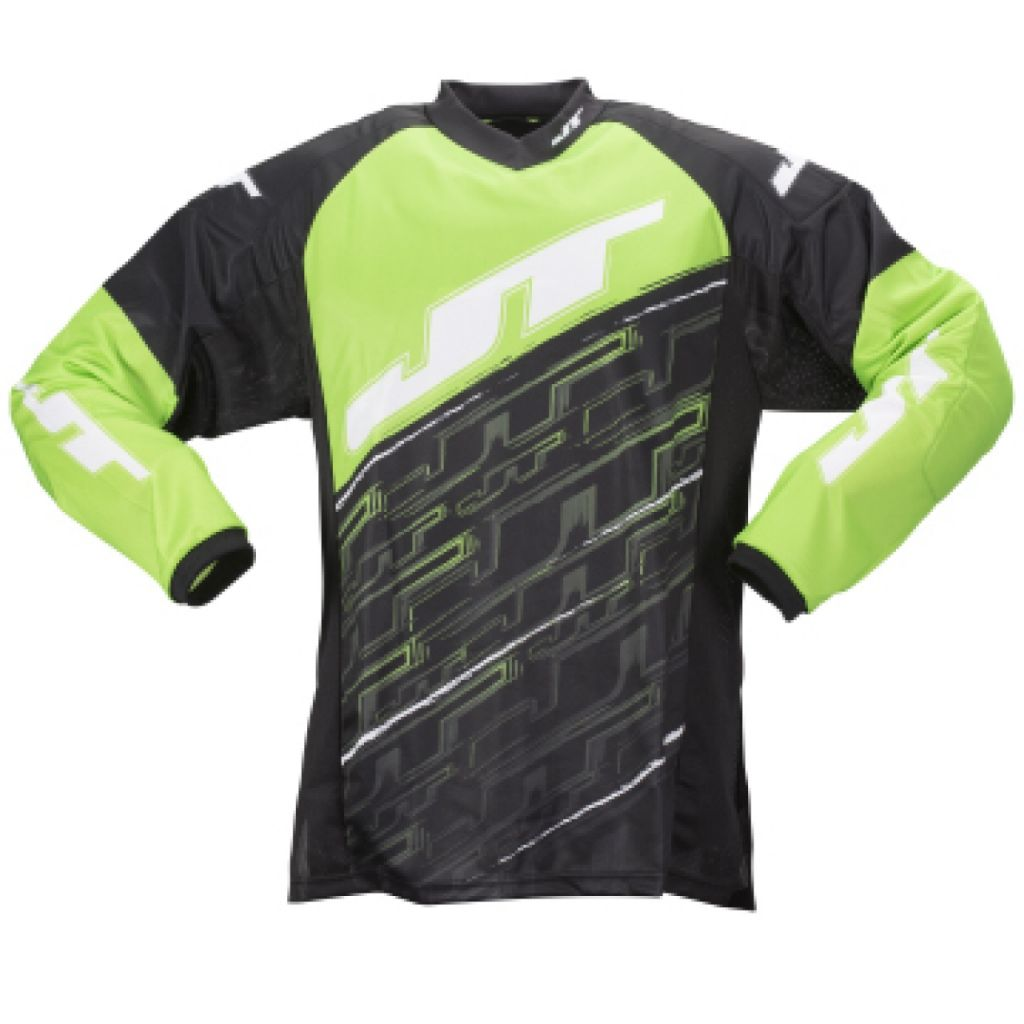 JT Tournament Jersey paintball mez (neon green)