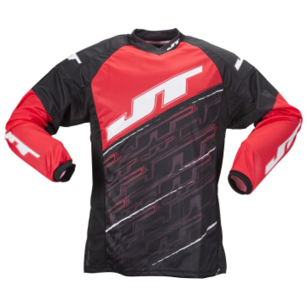 JT Tournament Jersey paintball mez (red)