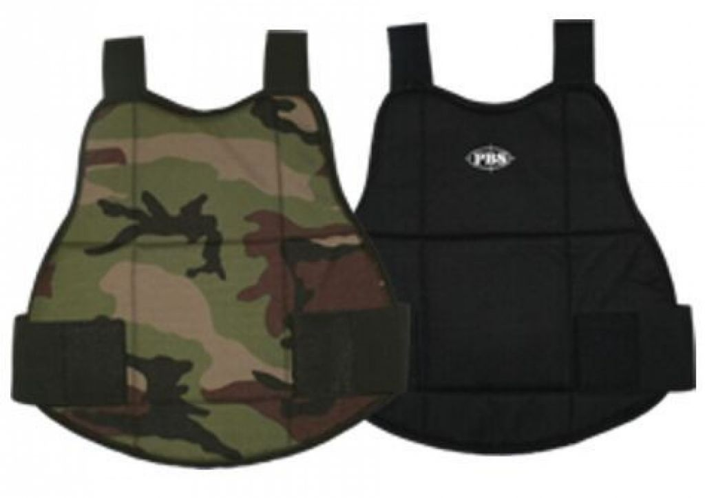 PBS Chest Protector paintball mellkasvédő (Woodland/Black)