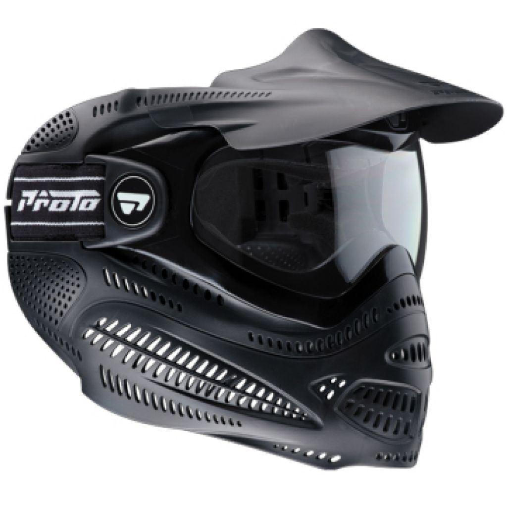 Proto Switch EL Goggle Thermal black paintball maszk
