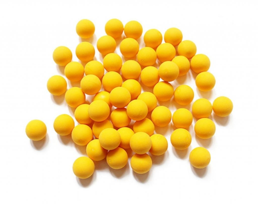 Rubber Balls Cal. 68 - 500 pack paintball gumilövedék Field