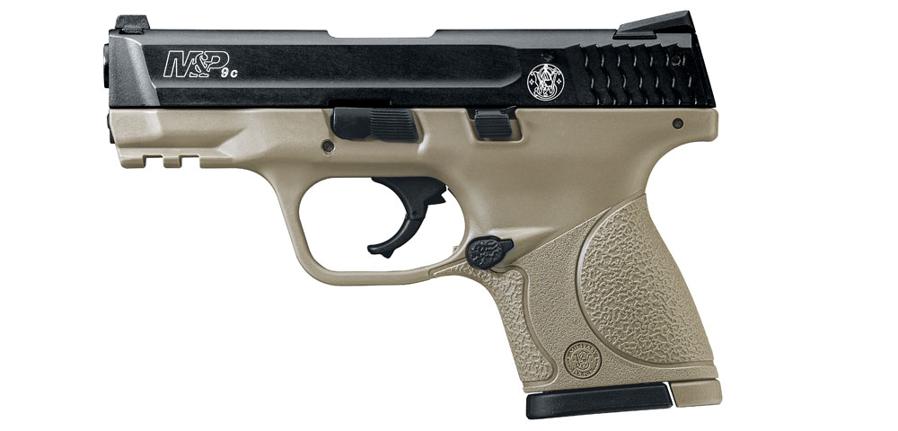 Smith and Wesson M&P 9C 9mm P.A.K. FDE gázpisztoly