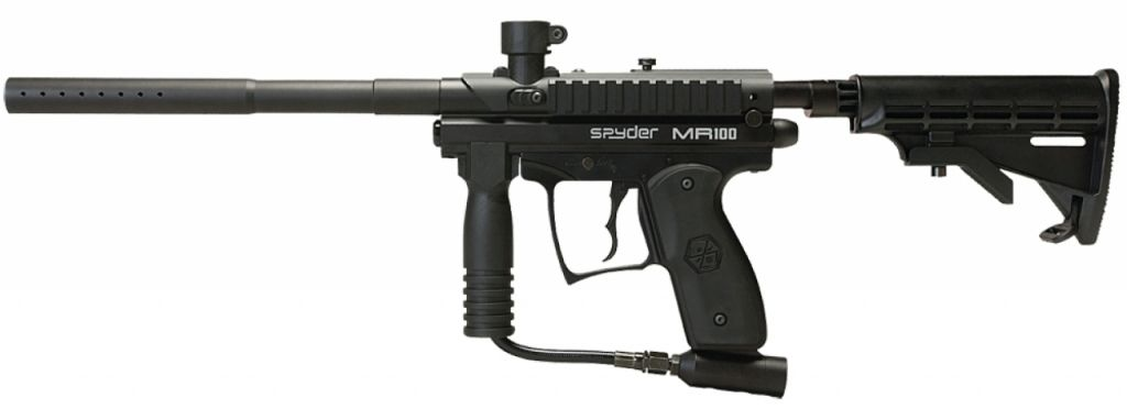 Spyder MR100 Pro Paintball Marker diamond black