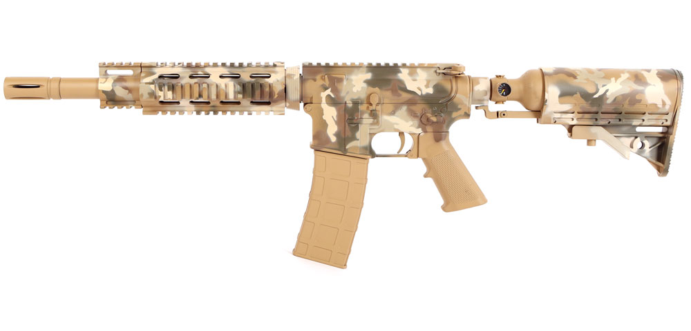 Tiberius T15 Special Edition Desert Stain Camo Paintball marker