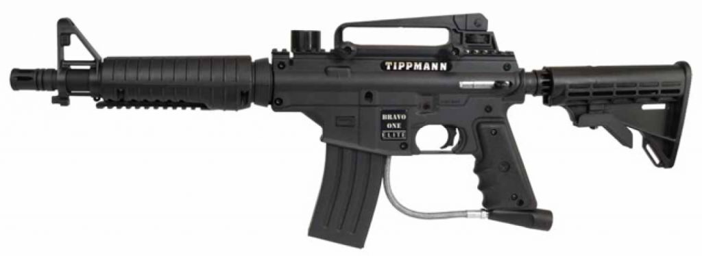 Tippmann Bravo One Elite Egrip paintball marker