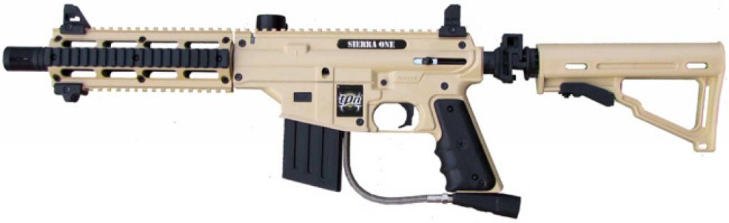 Tippmann Sierra One Tan paintball marker