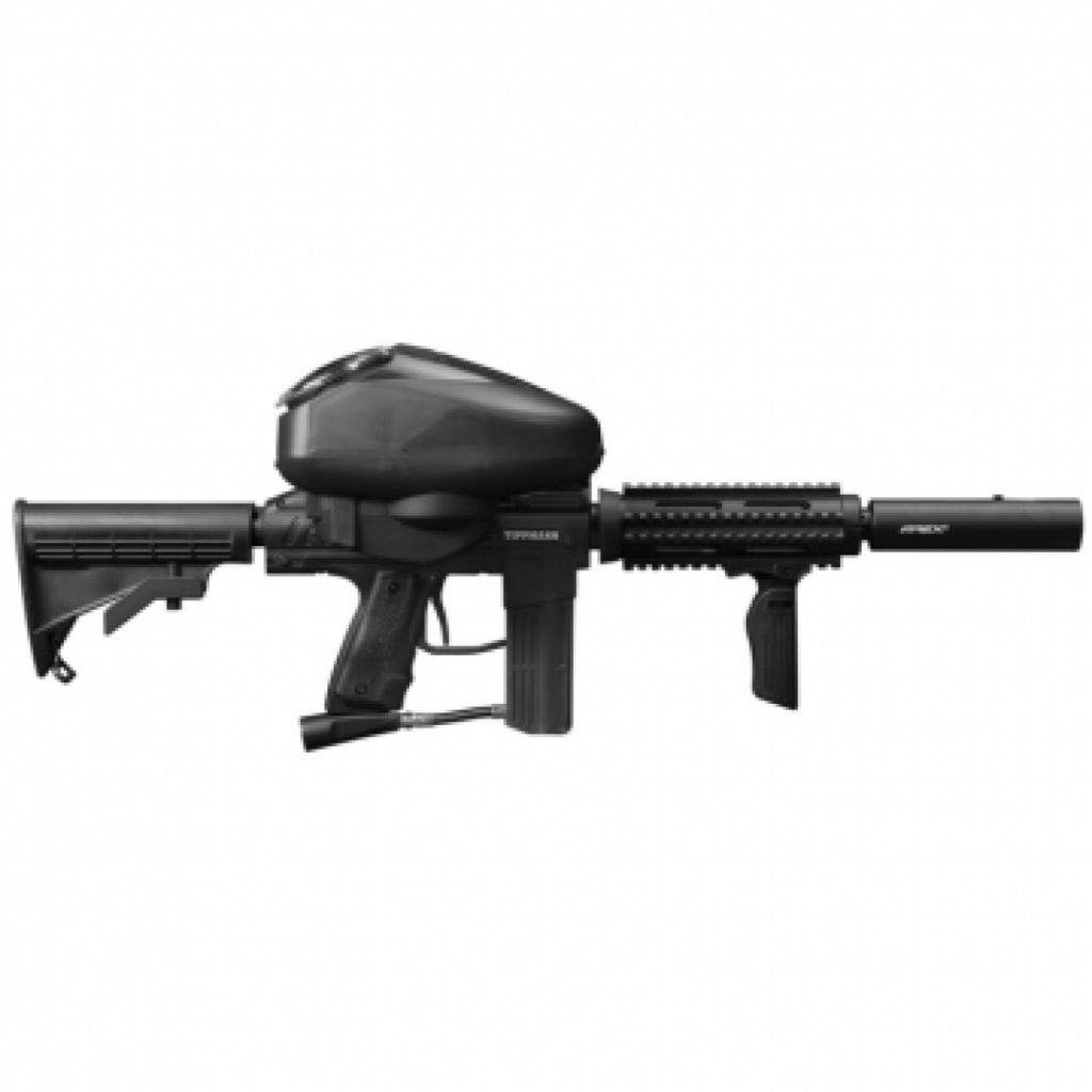 Tippmann Stryker AR1 Elite w/RIP Clip black paintball marker