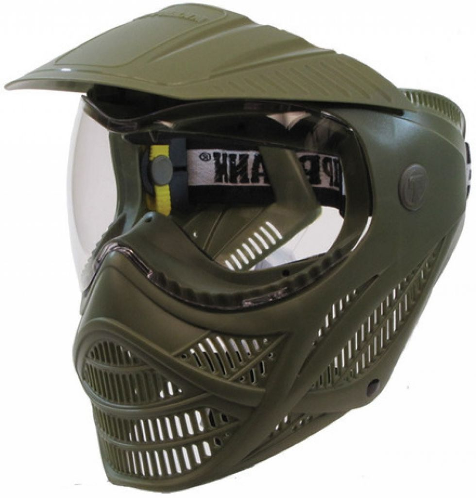 Tippmann Valor paintball maszk - Olive Green (T295007)