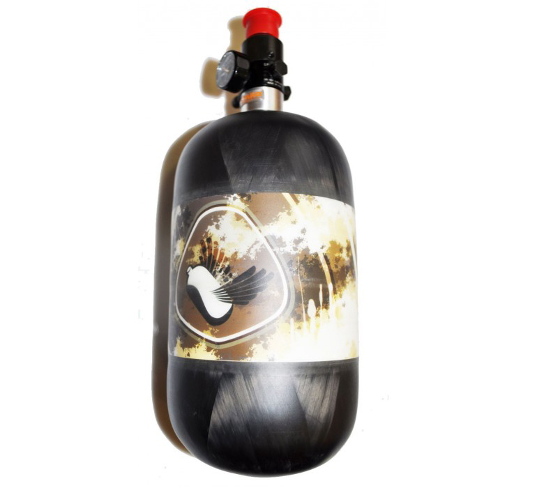 Totem Air System 1.1 L/68ci 4500psi π CE UL Paintball palack