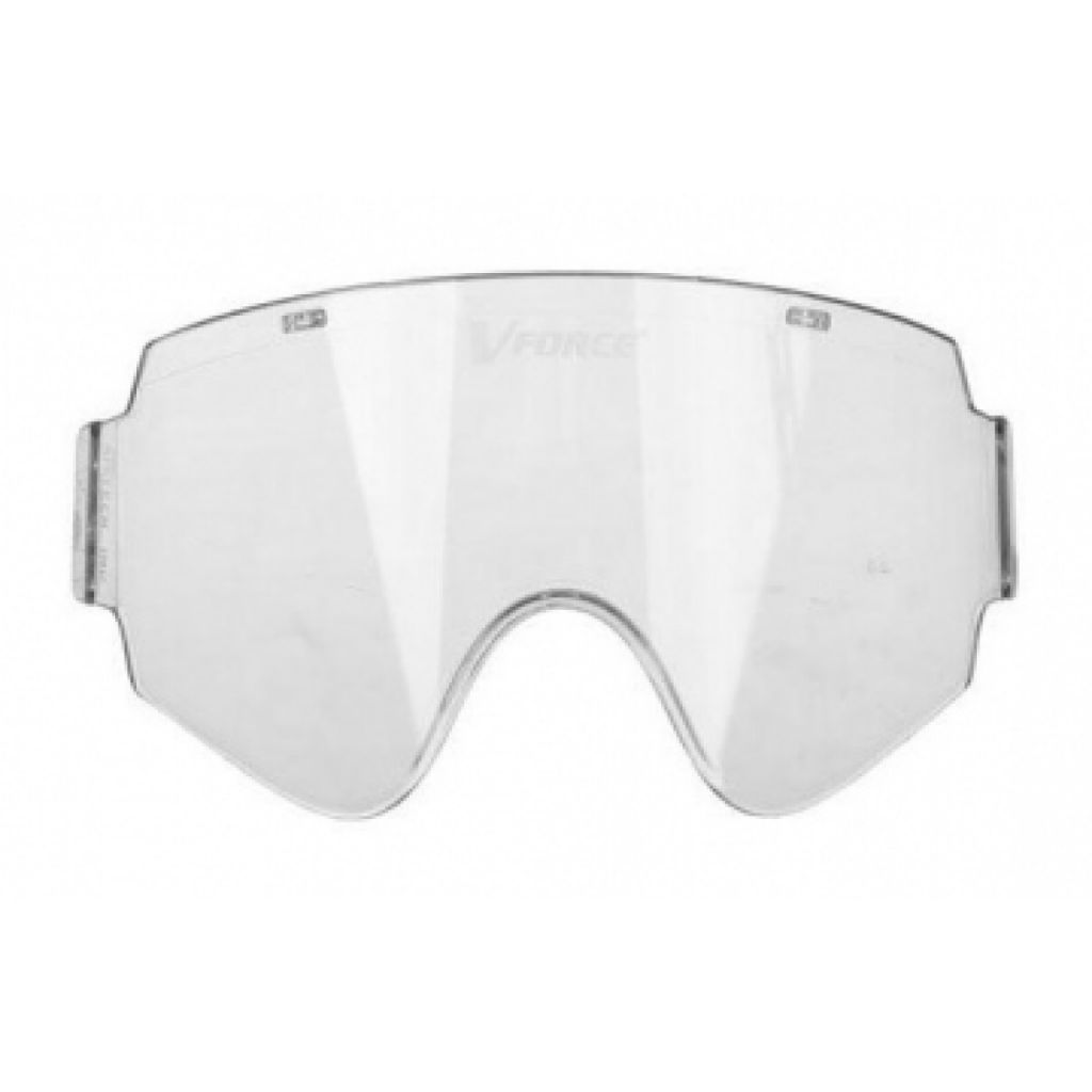 V-Force Armor Single Lens clear paintball lencse