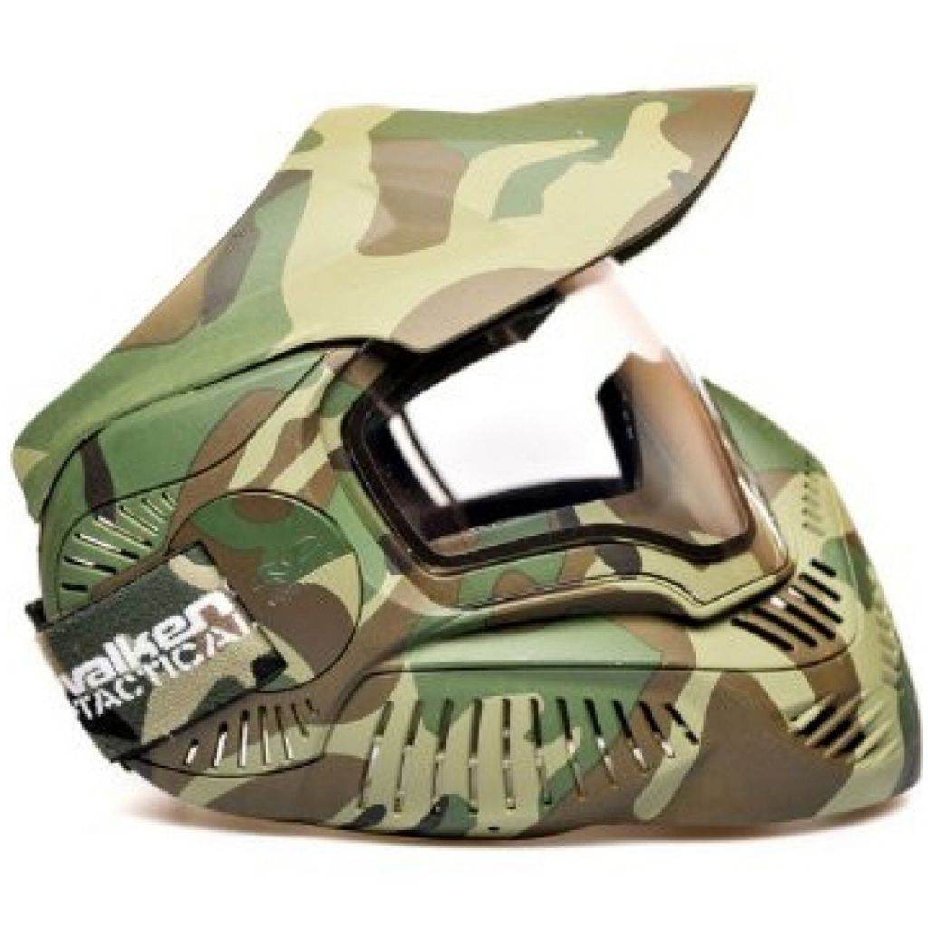 Valken Annex MI-7 Goggle Thermal woodland paintball maszk