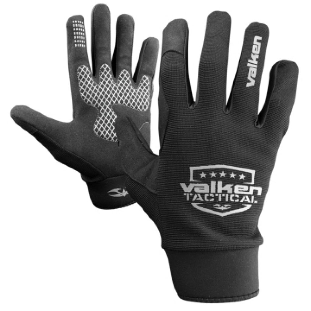 Valken Gloves Sierra II black paintball kesztyű