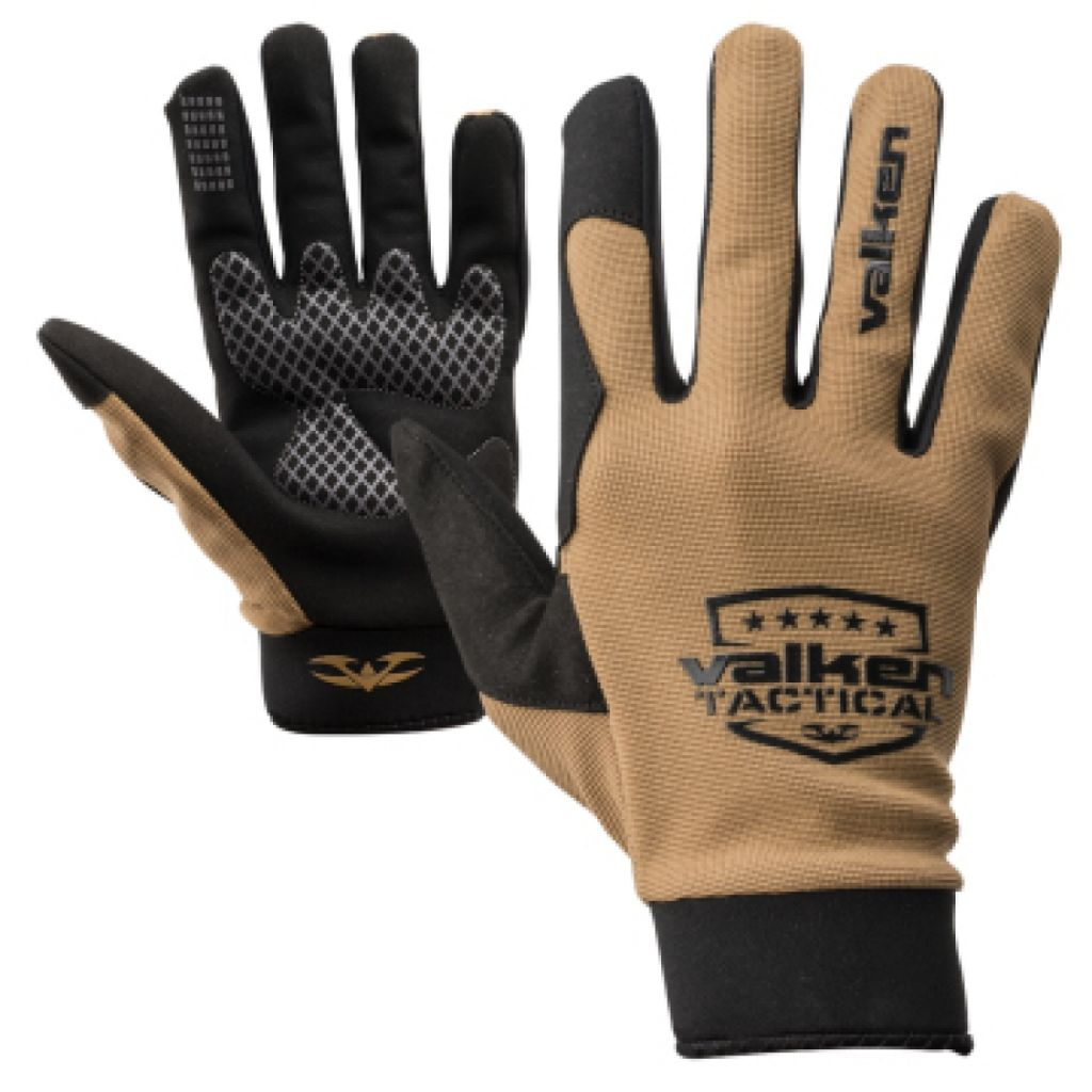 Valken Gloves Sierra II tan paintball kesztyű