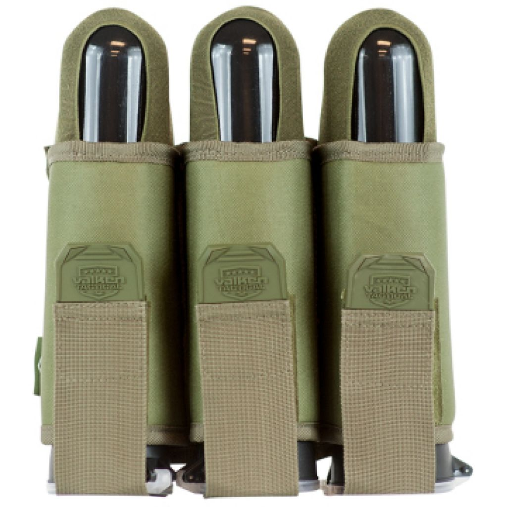 Valken V-TAC 3 Pod Web Belt paintball tube tartó (olive)