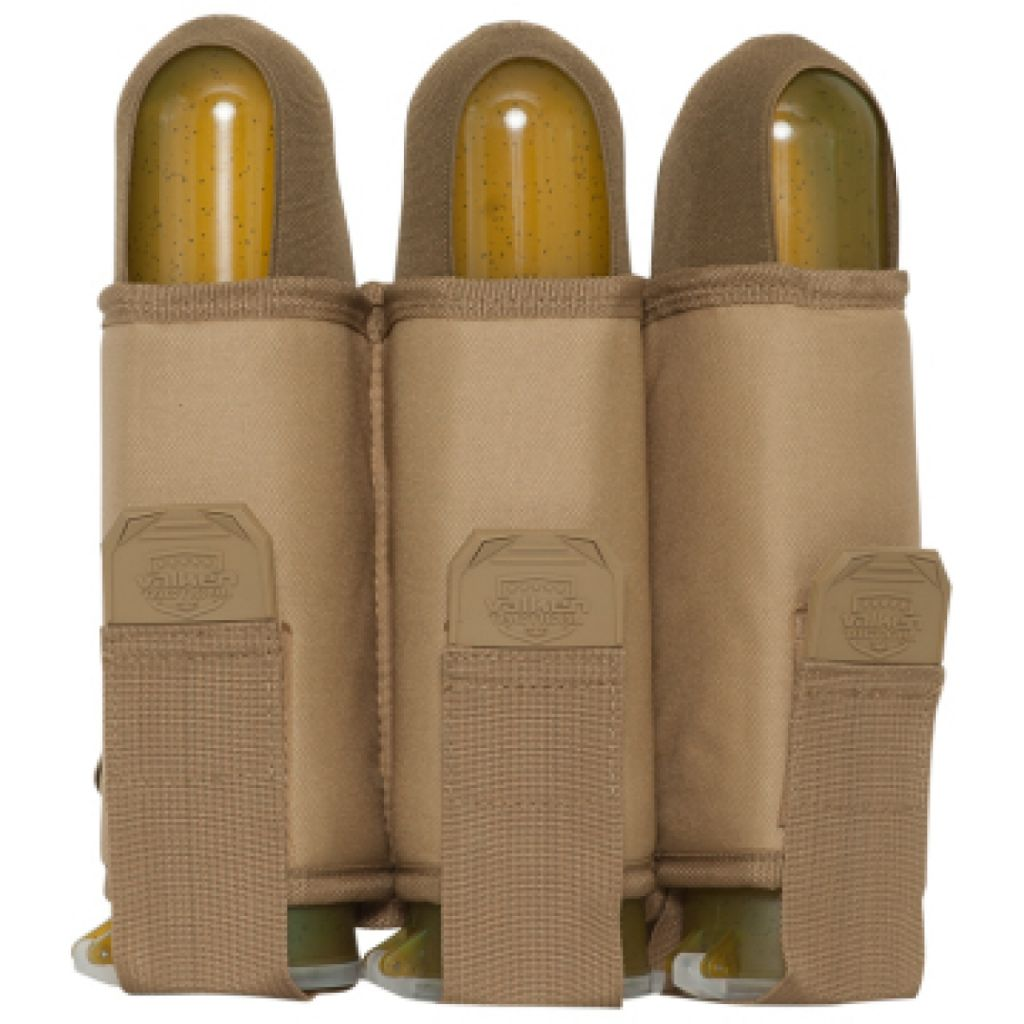 Valken V-TAC 3 Pod Web Belt paintball tube tartó (tan)