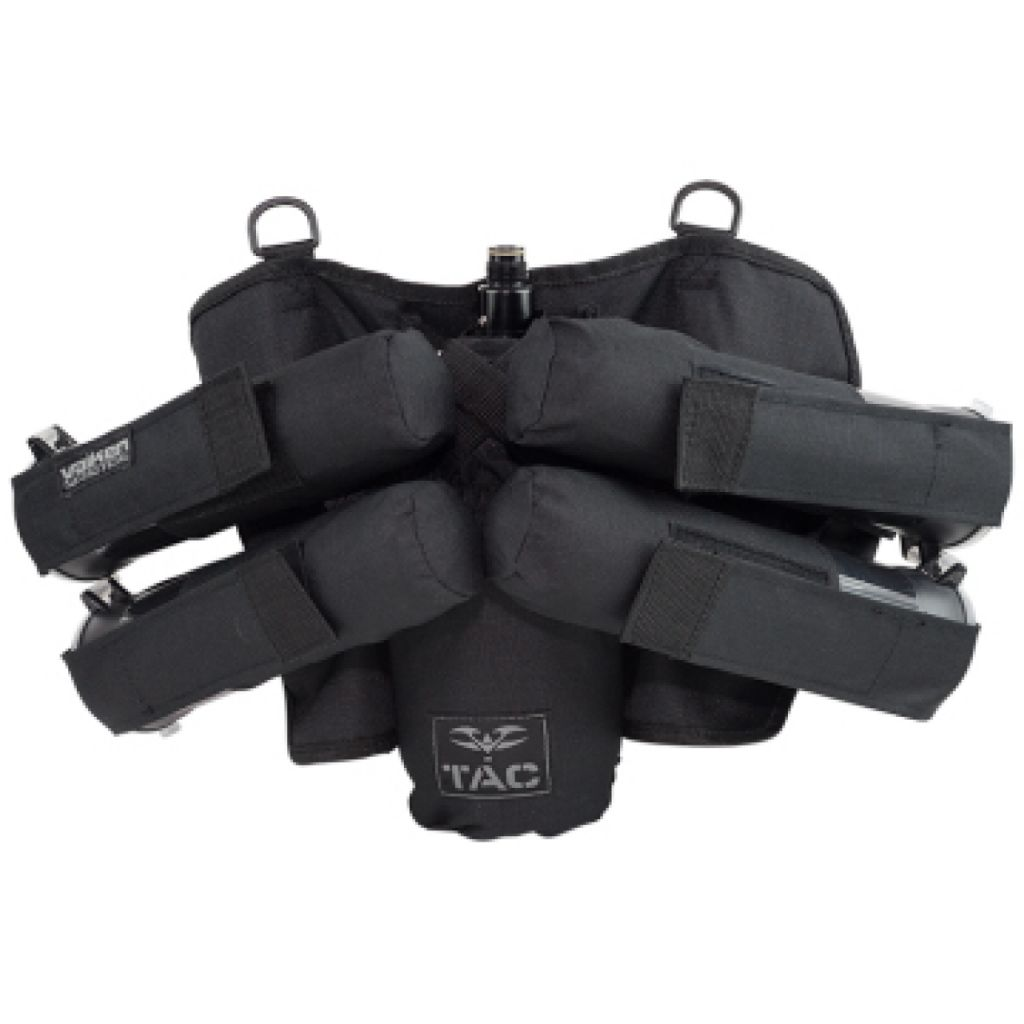 Valken V-TAC Harness 4+1 paintball tube tartó (black)