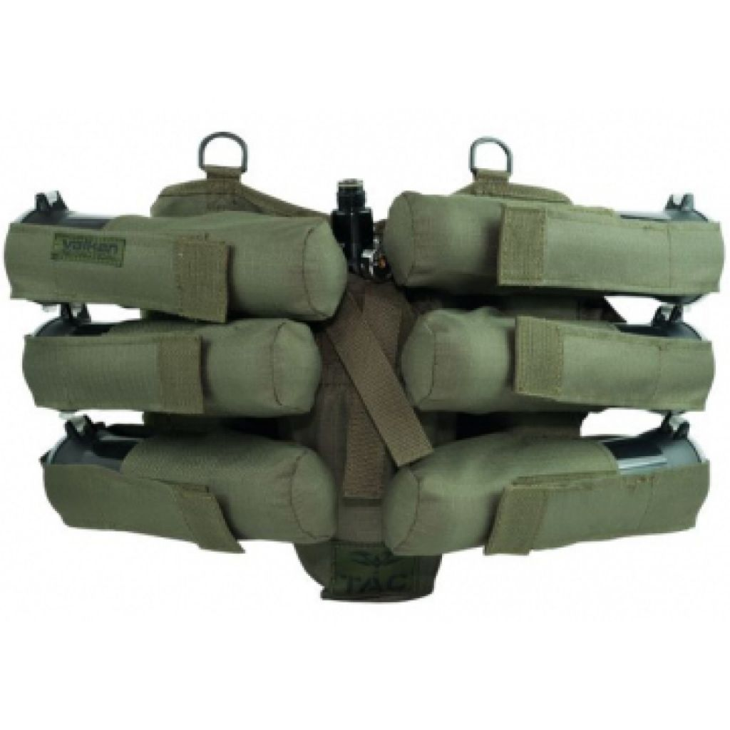 Valken V-TAC Harness 6+1 paintball tube tartó (olive)