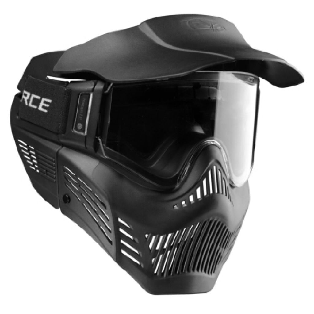 Vforce Armor Single lencsés paintball maszk (black)