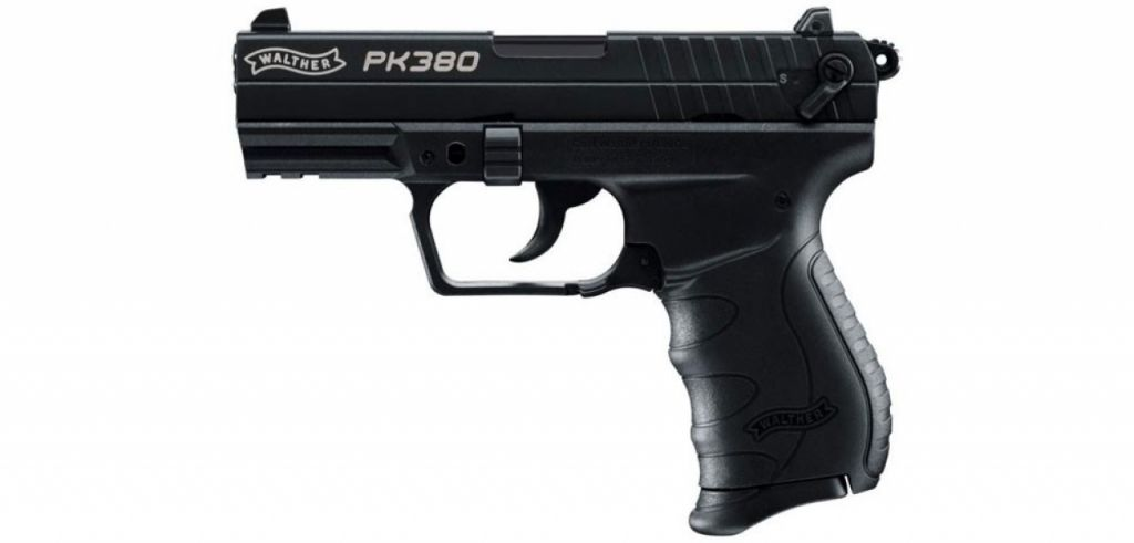 Walther PK380 cal. 9 mm P.A.K. gázpisztoly