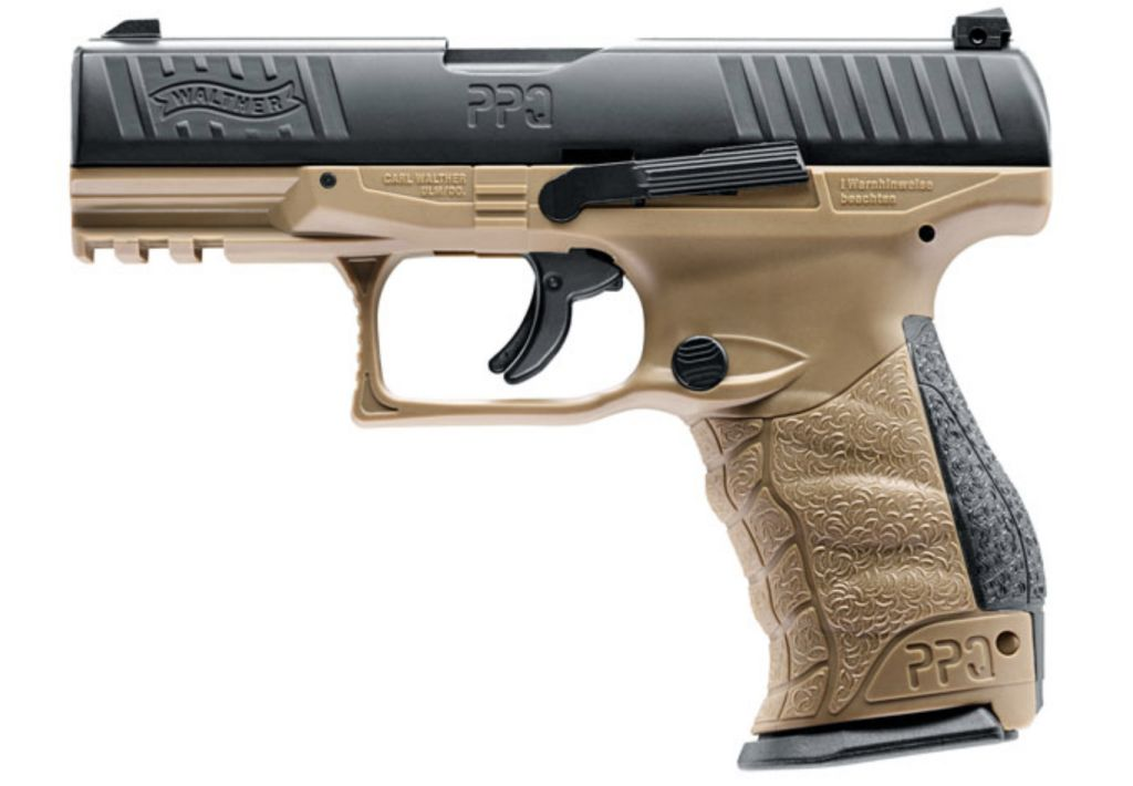 Walther PPQ M2 T4E RAM Pistol - FDE Paintball pisztoly