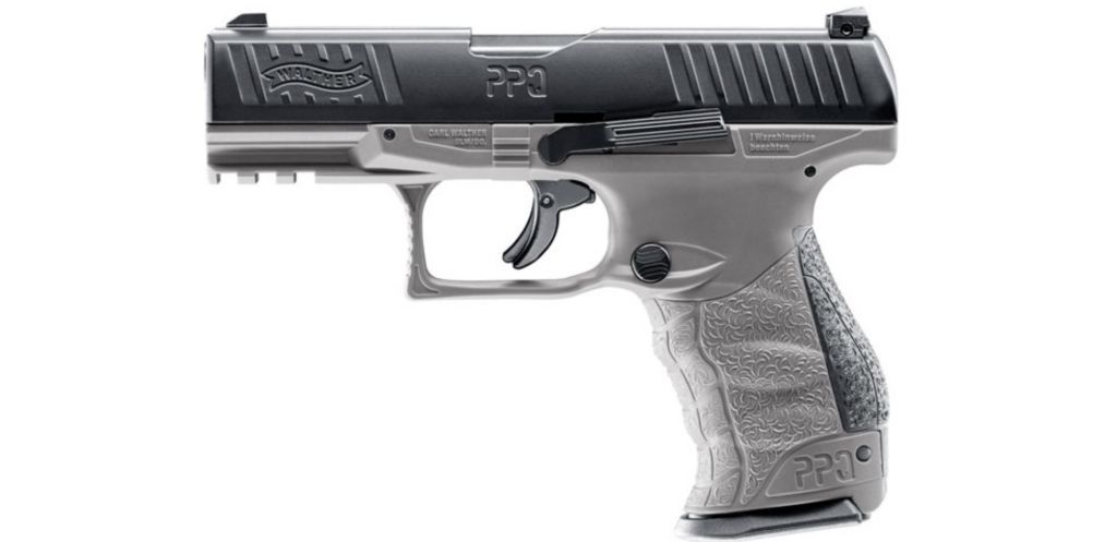 Walther PPQ M2 T4E RAM Tungsten Gray Paintball pisztoly
